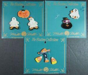 21x Buttons  Halloween/Christmas/Ceramic/Polymer/2-Hole/Shank/Pins/Charm-SN77
