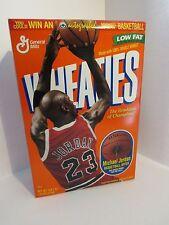 General Mills Wheaties Cereal Box Michael Jordan : Basketball order on back