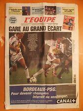 L'équipe N° 16700 du 15/1/2000-Monaco recoit Rennes-Lyon-Auxerre-OM-Montpellier