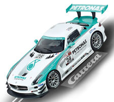 Carrera 23837 Digital Mercedes Benz SLS AMG GT3 Petronas Slot Car 1/24
