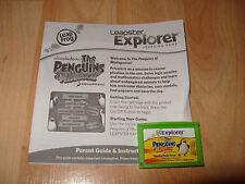 Leapfrog Explorer LeapPad 1 2 3 Ultra Platinum THE PENGUINS OF MADAGASCAR Game