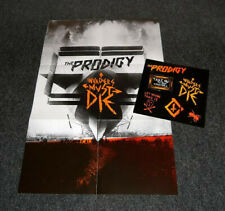 Prodigy Invaders must die box set Rare PROMO issue+Live Blueray/cd Combo Bundles