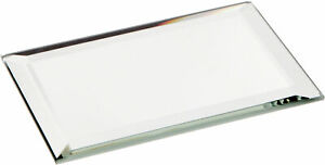 Plymor Rectangle 3mm Beveled Glass Mirror, 2 inch x 3 inch (Pack of 12)
