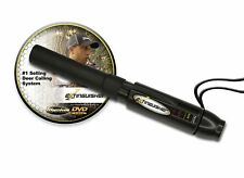 Extinguisher Deer Call Black with Dvd Instructional Hunting Buck Lure Grunt New