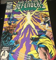 Marvel comic #2 - The  Secret Defenders - April  1993  Fast Shipping!!!!!