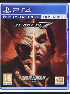 PS4 Spiel Tekken 7 Playstation VR Features Blitzversand NEUWARE