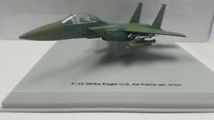 Armour Collection 1:100 Diecast Aircraft F-15 Strike Eagle USAF #5101 Camouflage