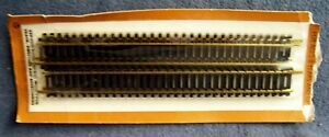"""Tyco Industries – 9"""" Straight Track Sections – HO Gauge – 4 Pieces - NOC"""