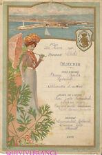 MN159 - MENU MESSAGERIES MARITIMES 1904 PAQUEBOT CHILI