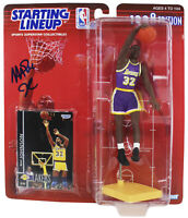 Lakers Magic Johnson Authentic Signed 1998 Starting Lineup BAS Witness #MJ14930