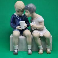 B & G Bing Grondahl Royal Copenhagen Children Figurine Unfair Treatment #2175