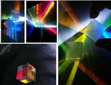 Defective Optical Glass RGB Prism X-CUBE for Physics Teach Decoration Art