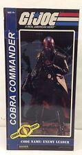 Sideshow G.i. Joe Cobra Commander 12 Inch Figure 2614