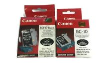 Genuine Original Canon BCI-10 Black & BC-10 Ink Cartridge Head Boxed
