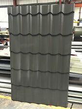 Tile Effect Steel Roofing Sheets - Versasteel 1100 Pan Tile Sheets ANTHRACITE