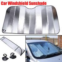 Jumbo Foldable Truck Van Suv Car Sun Shade Auto Windshield Visor Block UV Cover