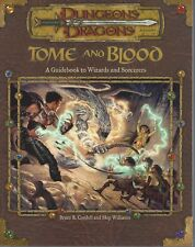 Dungeons & Dragons Tome & Blood Guidebook to Wizards & Sorcerers 3.0 SC NEW OOP