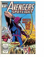 Lot Of 6 Avengers Spotlight Marvel Comic Books # 21 22 23 30 31 37 Hulk Thor GJ3