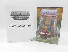 MotU Masters Classics Snake Men SNAKE MAN-AT-ARMS Action Figure Mailer Neu/OVP