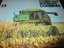 John Deere 8820-7720-6620-SideHill 6620-4420 Combines Sales Brochure 1979