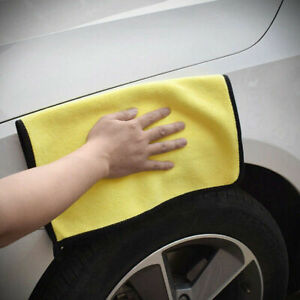 Car Wash Microfiber Towel Cleancloth Drying Super Absorbent Duster Soft 800GSM