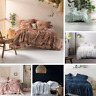 Linen House Somers Cotton Chenille Queen King Coverlet Bed Cover Bedspread Range