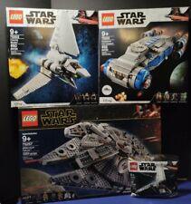 SET OF 4 LEGO STAR WARS: 75257, 75293, 75302, & 30388! NEW! SHIPS FREE! L@@K!