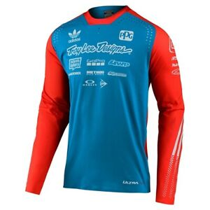 Troy Lee Designs 2020 SE Ultra Limited Team Edition Motorcycle Jersey Ocean/Flo