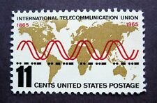 Sc # 1274 ~ 11 cent International Telecommunication Union Issue (dh21)