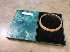 SUZANNE SOMERS Gold Yellow CZ Choker Necklace NIB NOS