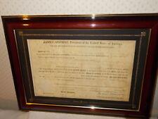 OHIO LAND GRANT to Joseph Sheely 8/20/1818 SIGNED JAMES MONROE  & JOSIAH MEIGS