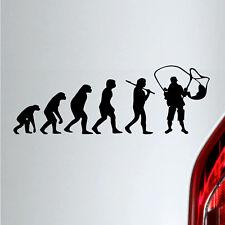 Auto Aufkleber Evolution Angler Angelsport tuning sticker