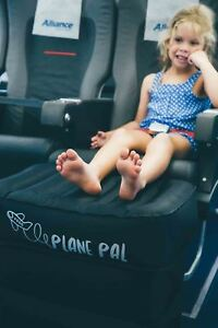 NEW Plane Pal Inflatable Seat Extender Kids Airplane Plane Pillow Legrest