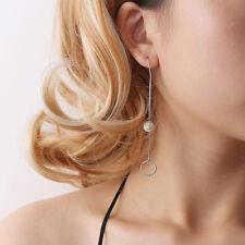 Earrings Simulated Pearls Jewelry Gift Ki Women Fashion Long Tassel Dangle Drop