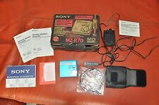 SONY MZ-R70  MD WALKMAN  , PERFECT IN BOX  ,
