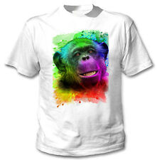 MONKEY 1 - NEW COTTON WHITE TSHIRT