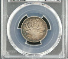 1947 George VI 25 cents CAN • Dot • Grade MS-63