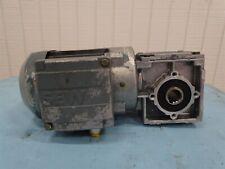 Sew-Usocome WA20 DR63M2 Gearmotor 0.25kW 3260/318RPM 3PH 230/400VAC 1.13/0.64A