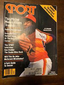 Sport Magazine - J.R. Richard - July 1979 -(M14A)