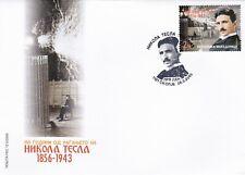North Macedonia/2006/FDC/Science/Nikola Tesla/Physicist
