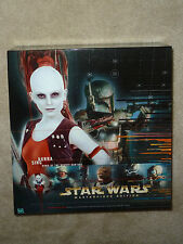Star Wars AURRA SING Action FIGURE Complete STORY BOOK Dawn Of The Bounty Hunter