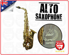 Alto Saxophone Sax Brass Student Designed In USA Strap Mouthpiece Reed Ligature