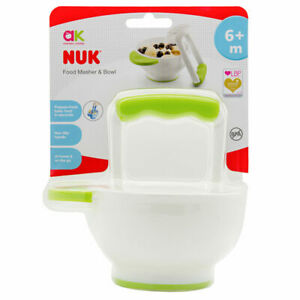 NUK - Annabel Karmel Baby Food Masher and Bowl