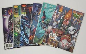 Blood Wulf, Pitt, Warblade, Ripclaw, Grifter Image Comics Lot of 6
