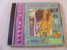 Noah's Ark Multi-lingual CD- Rom - Bible Rom - Vintage Pc disc Windows 95