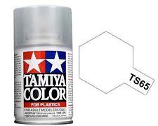 Tamiya TS-65 PEARL CLEAR TOP COAT Spray Paint Can  3.35 oz. (100ml) 85065