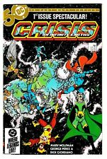 CRISIS ON INFINITE EARTHS #1 (VF/NM) George Perez Art! Copper-Age Issue! DC 1985