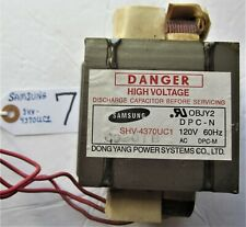 Microwave Oven Transformer MOT Dong Yang Power, SHV4370UC1, Item 7