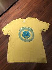 Andrew Combs All These Dreams Concert Shirt XL Yellow