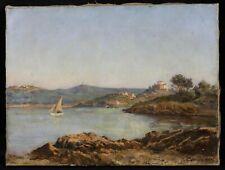 Jules DAUBEIL (1839-1896) Paysage d'Italie 1884  orientalisme  Jean-Paul LAURENS
